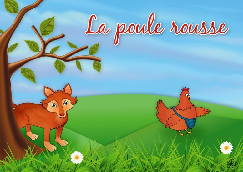 Berühmt La poule rousse (Histoire) © MK67 - Mon Kamishibai : Création de  TC79