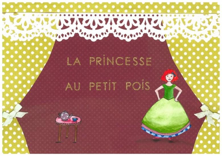 Top La princesse au petit pois (Histoire) © MK67 - Mon Kamishibai  GP53