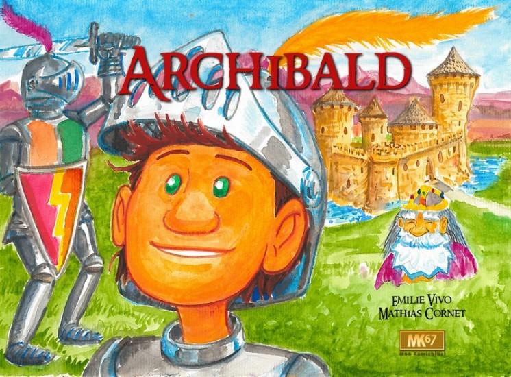 Archibald Livre Album C Editions Mk67 Vente Et
